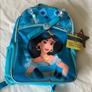NWT Disney's Jasmine Princess back pack & headband